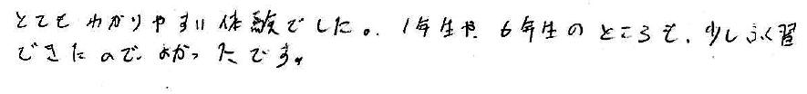 Y君(吉田郡永平時町)からの口コミ