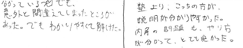 Rちゃん・Y君(あわら市)からの口コミ