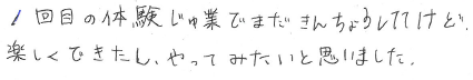 Mちゃん(大野市)からの口コミ