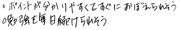 R君(見附市)からの口コミ