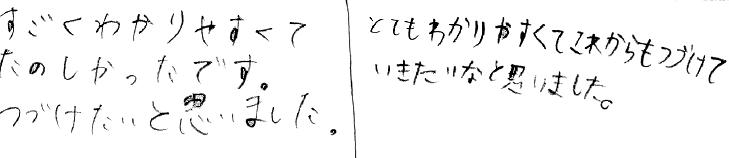 Mちゃん・H君(名張市)からの口コミ