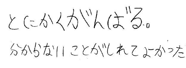 I.M君(津島市)からの口コミ