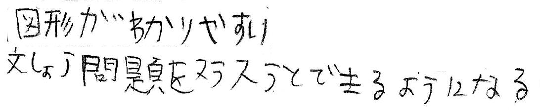 はすと君(小6)(三原市)からの口コミ
