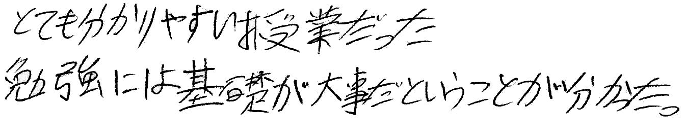 H君(上田市)からの口コミ