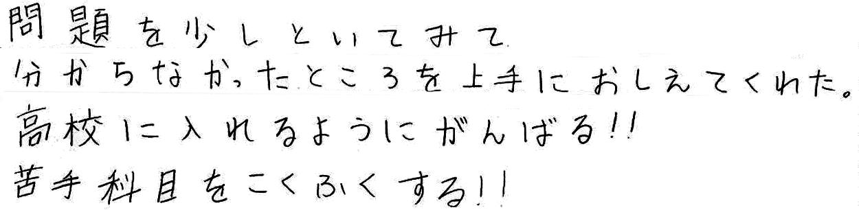 Mちゃん(知多郡武豊町)からの口コミ