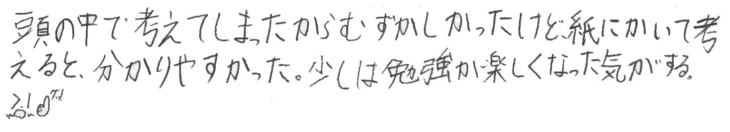 典明くん(田川市)からの口コミ