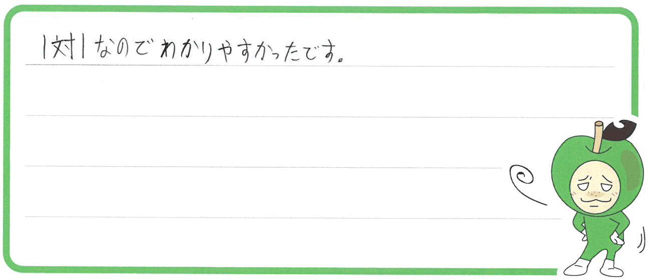 りょうすけ君(飯塚市)からの口コミ