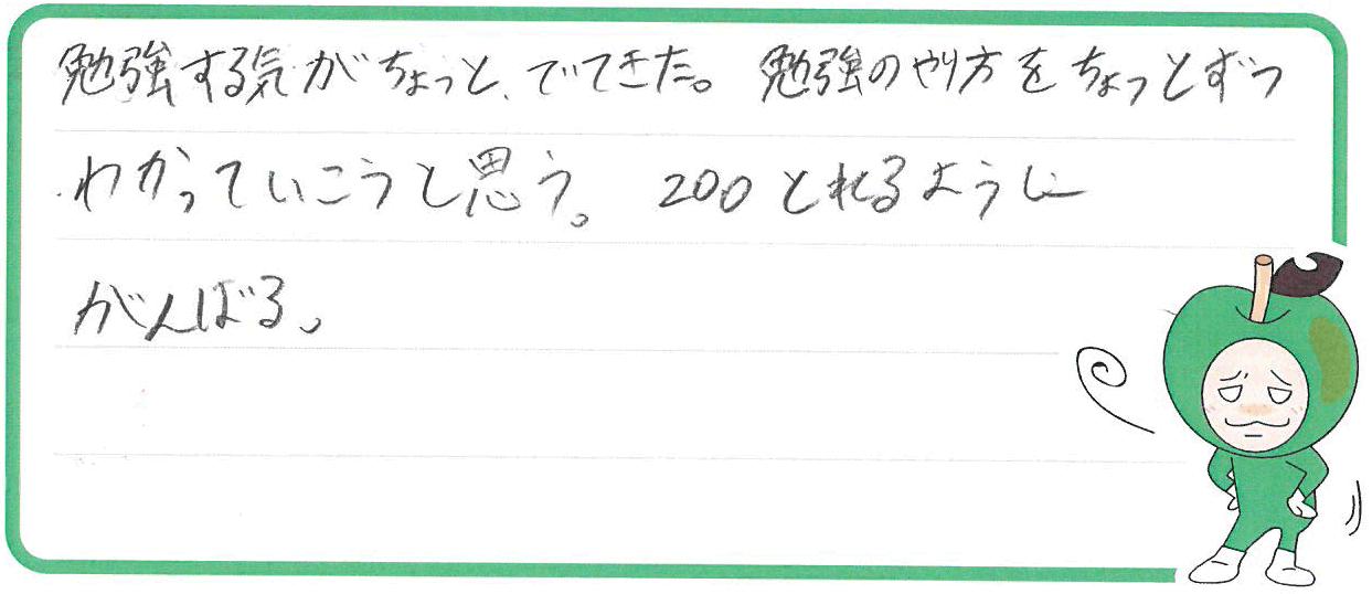 Y君(泉南郡熊取町)からの口コミ