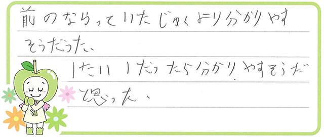 N君(松阪市)からの口コミ