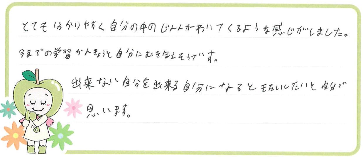T君(貝塚市)からの口コミ