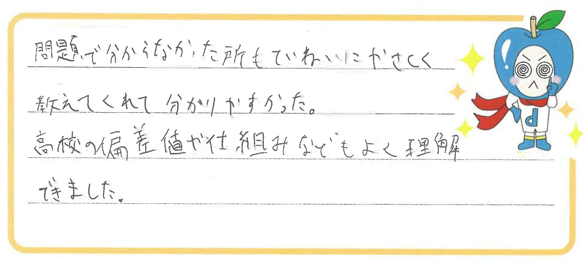 R君(田原市)からの口コミ