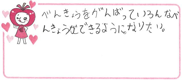 のK君(豊中市)からの口コミ