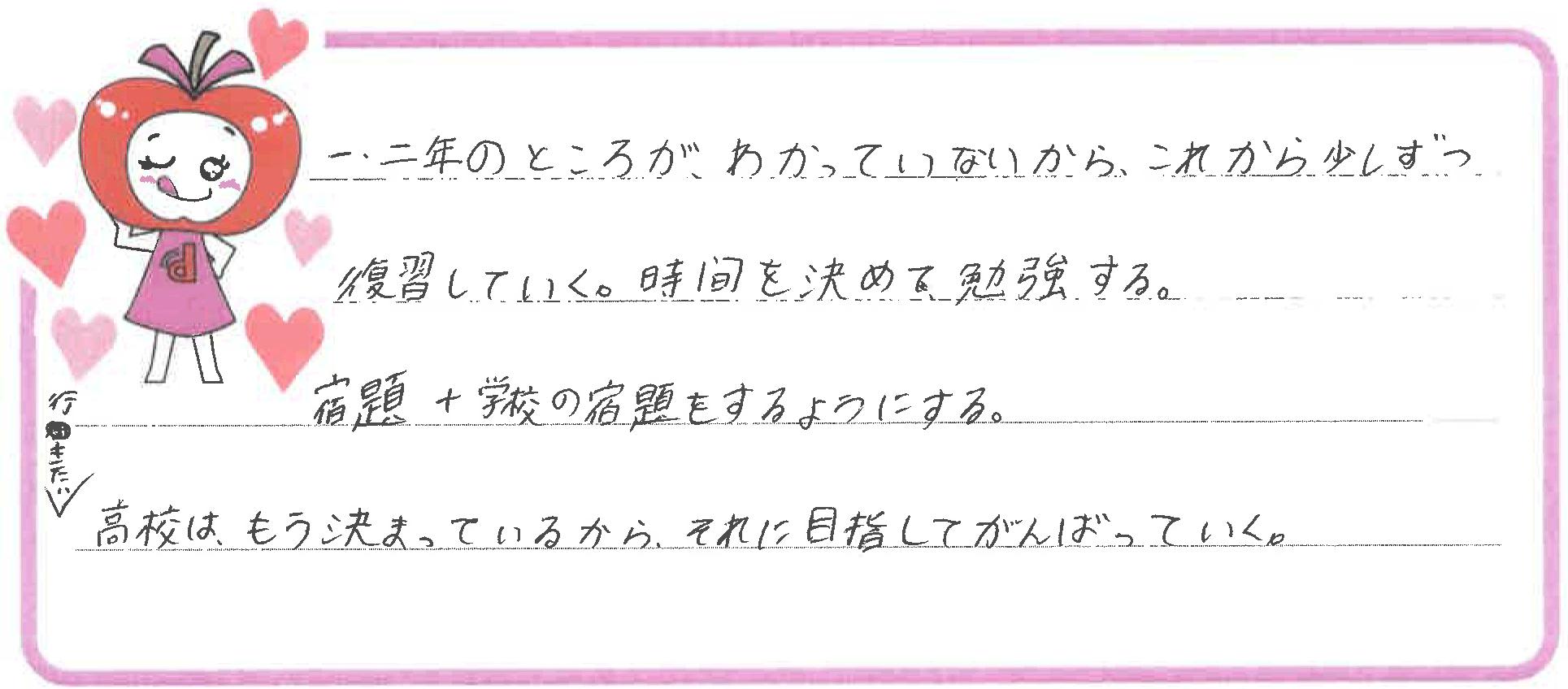 Nちゃん(鳥取市)からの口コミ