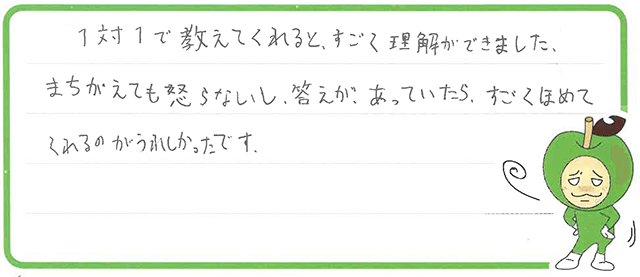 はるのぶ君(福井市)からの口コミ