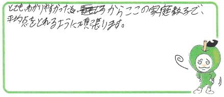 K君(三田市)からの口コミ