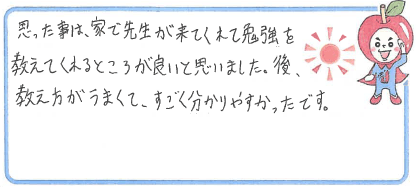 Y君(三田市)からの口コミ