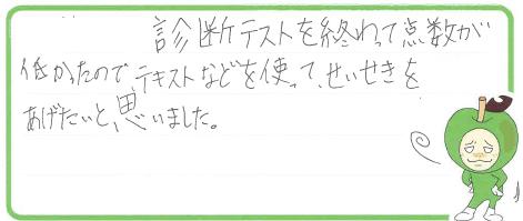 N君(高知市)からの口コミ