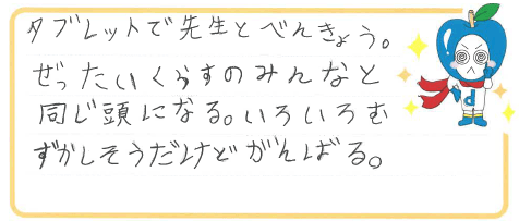 H君(徳島市)からの口コミ